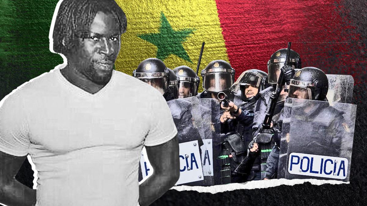Papagore Ndoye, el agresor de policías.