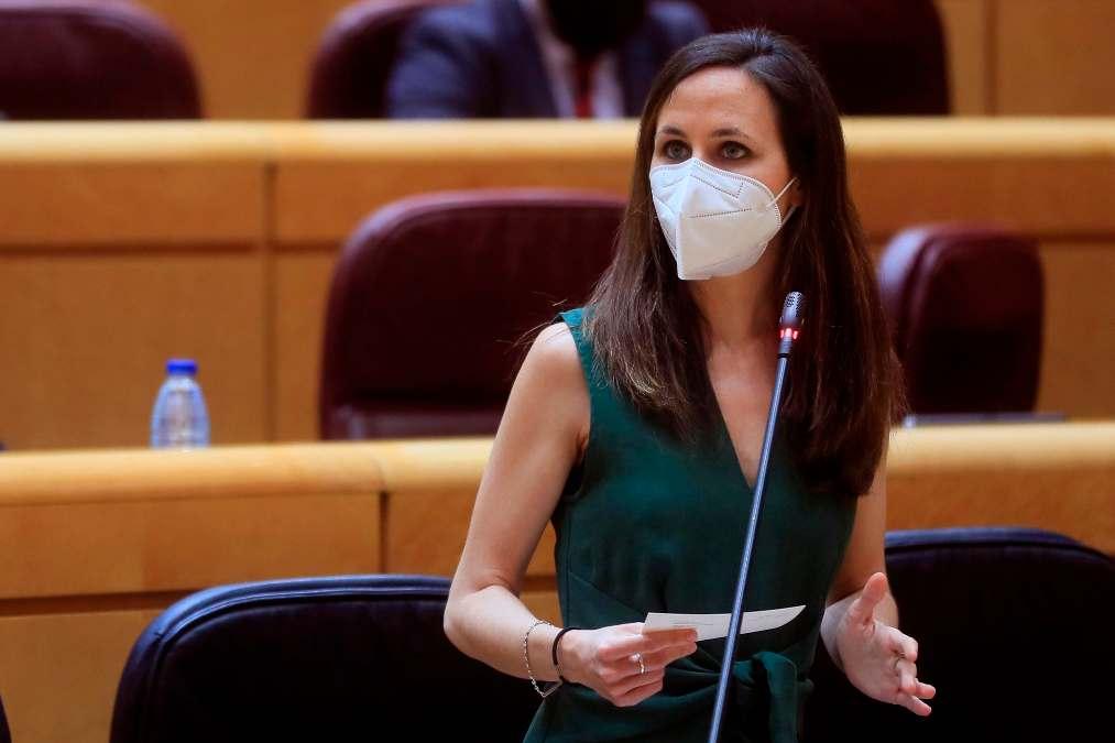 Ione Belarra, candidata a la Secretaría General de Podemos.