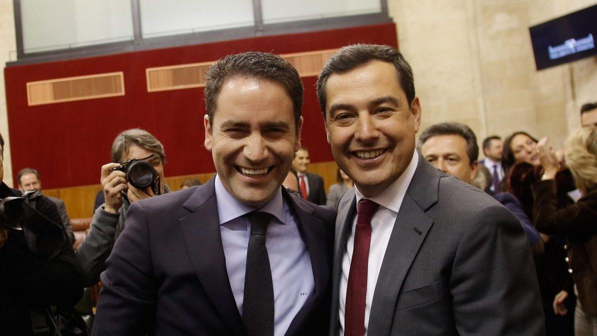 Segunda jornada del debate de investidura de Juanma Moreno (PP-A) como presidente de la Junta.