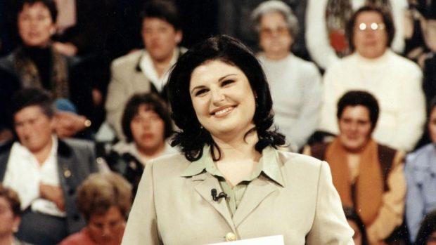 Teté Delgado en su etapa televisiva en los años 90