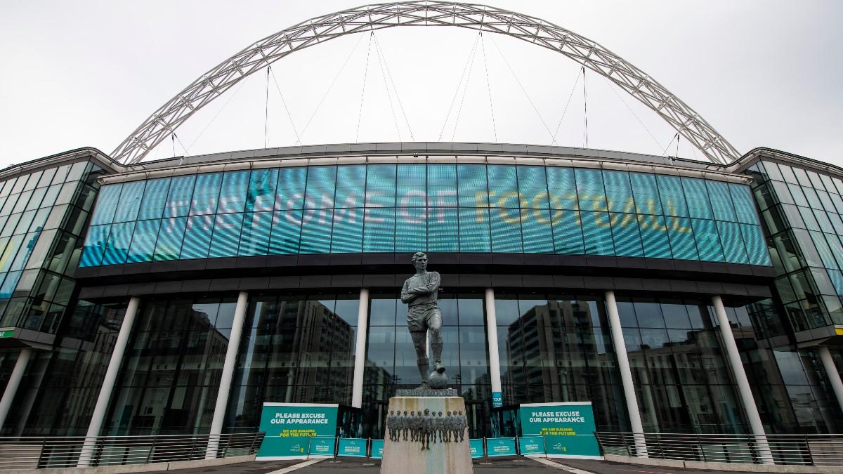 El Estadio de Wembley, escenario de la final de la Euro 2020 (Getty).