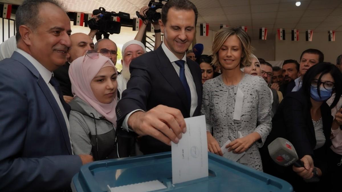 El presidente de Siria, Bashar al Assad (DPA).