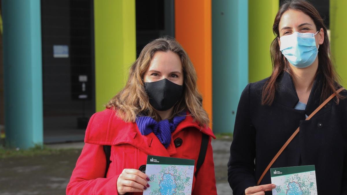 La concejal Carolina Pulido junto a Rita Maestre. (Foto: EP)