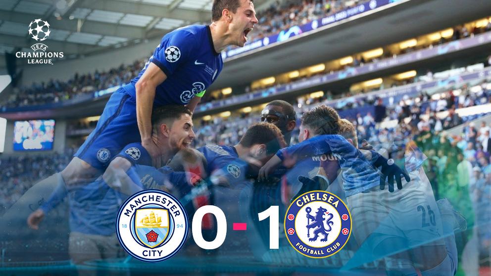 El Chelsea, campeón de la Champions.