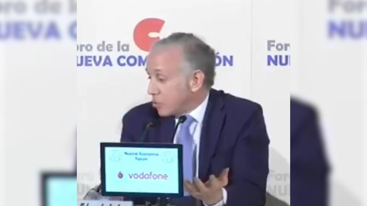 Eduardo Inda, director de OKDIARIO, en el vídeo.