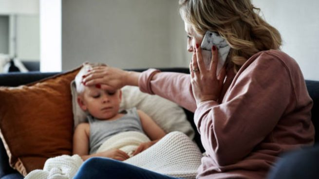 fiebre en los niños