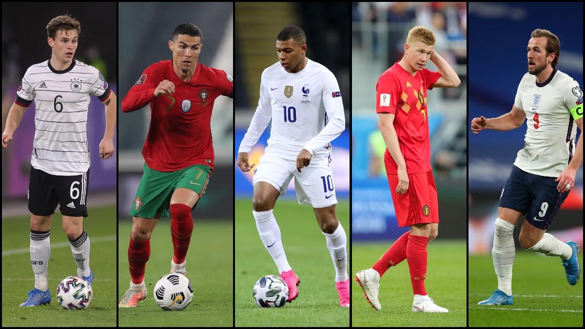 Los mejores jugadores que veremos en la Eurocopa 2020.