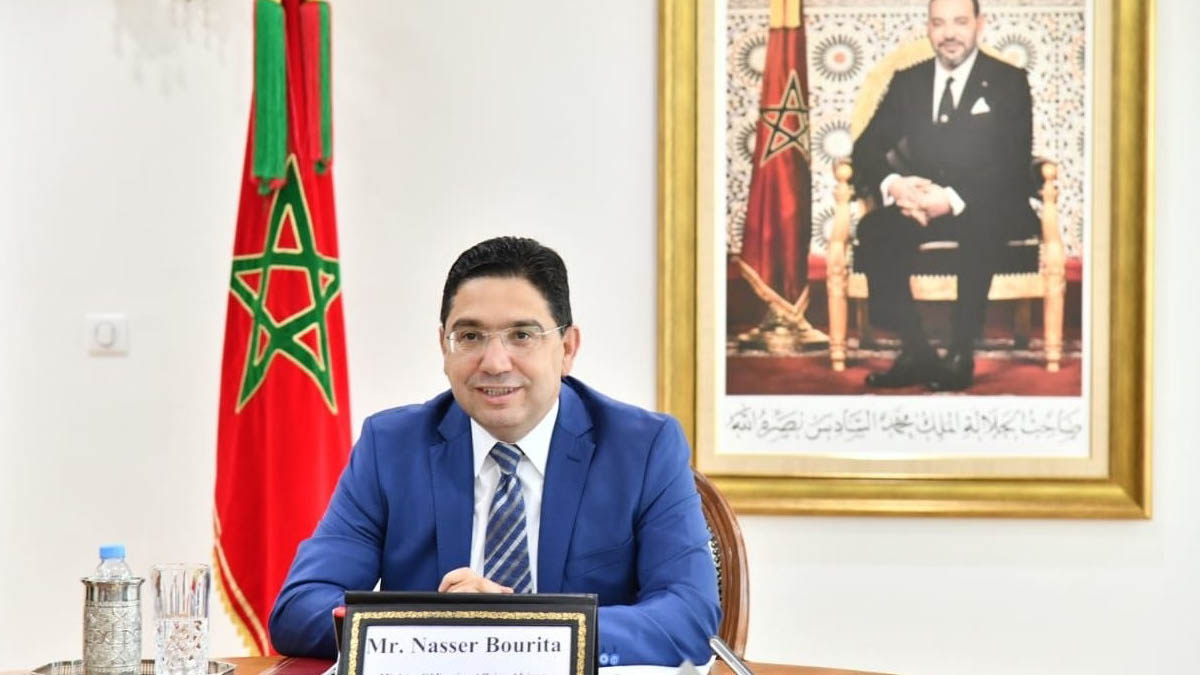Nasser Bourita, ministro de Exteriores de Marruecos. (Foto: EP)