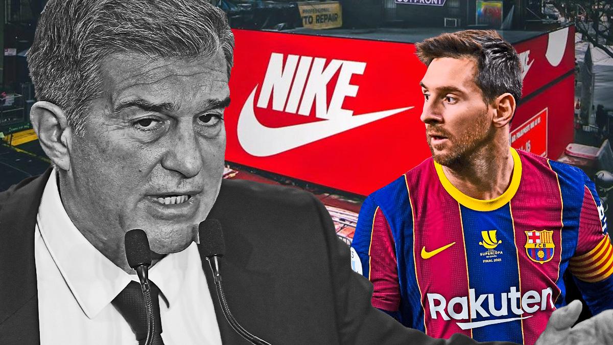 Laporta tiene una oferta de Nike y del Barcelona.