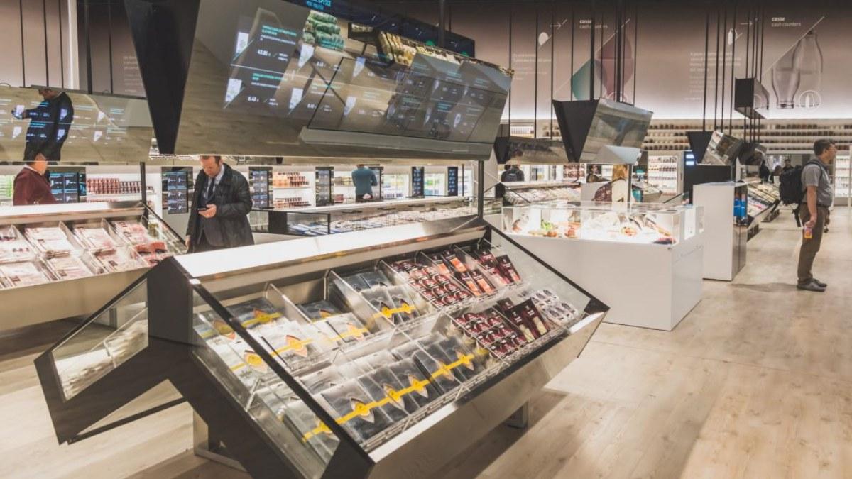 Supermercado inteligente en Lisboa