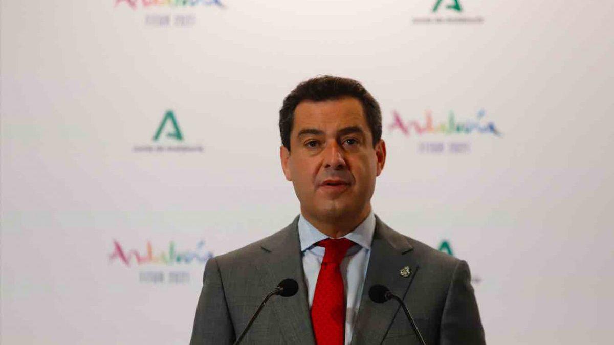 El presidente de la Junta de Andalucía, Juanma Moreno (ÁLEZ ZEA / EUROPA PRESS).