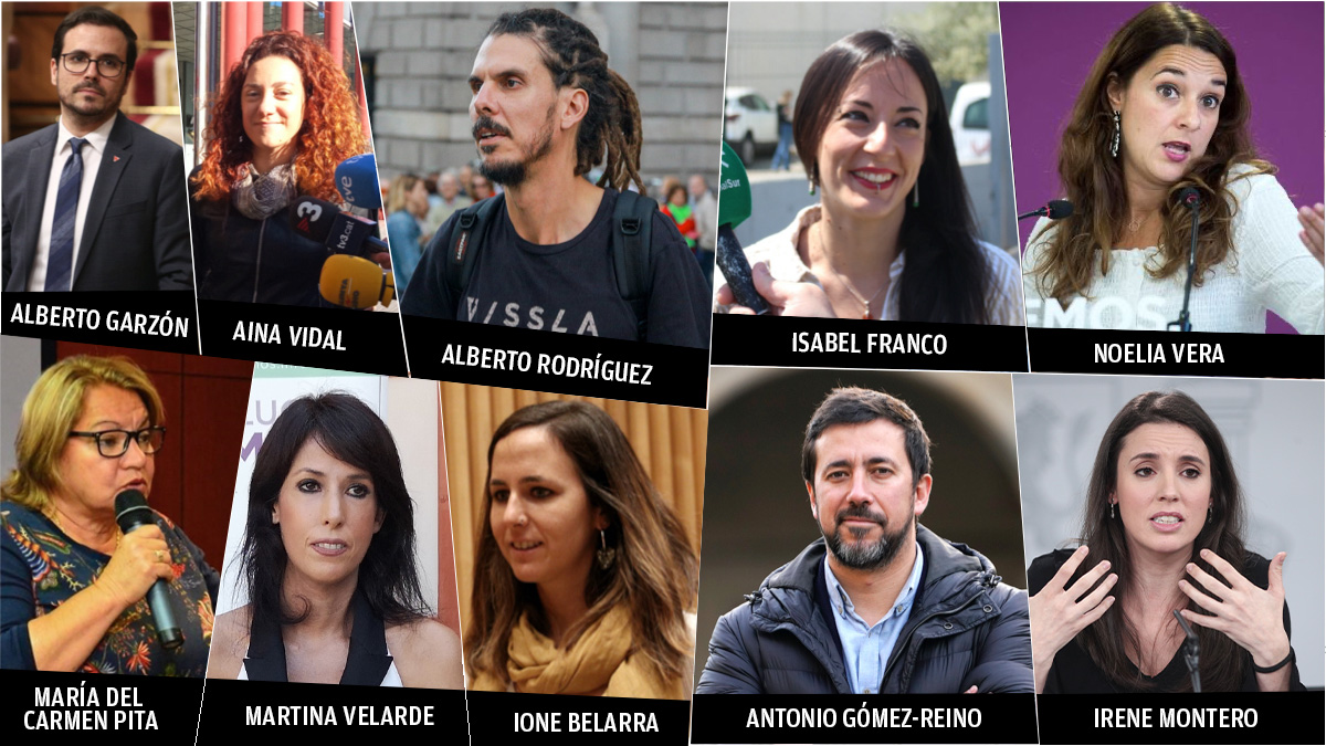 Los diputados de Podemos que se compraron una casa después de aterrizar en el Congreso.