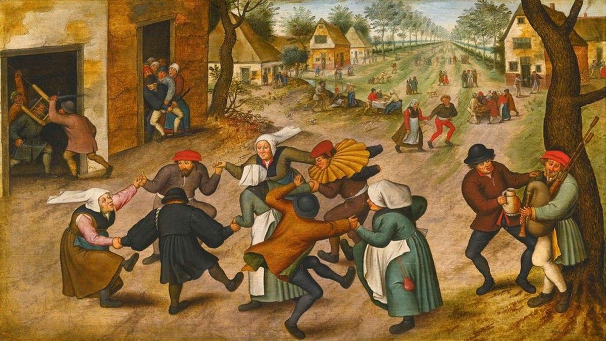 La epidemia del baile de 1518