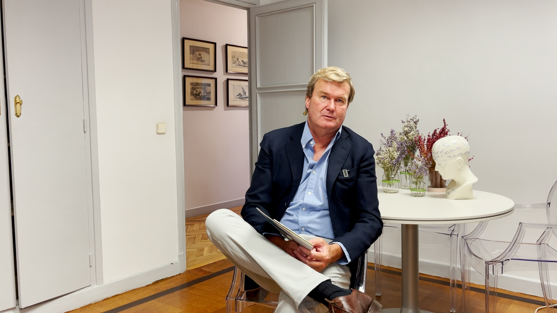Entrevista con Fermín Bohórquez