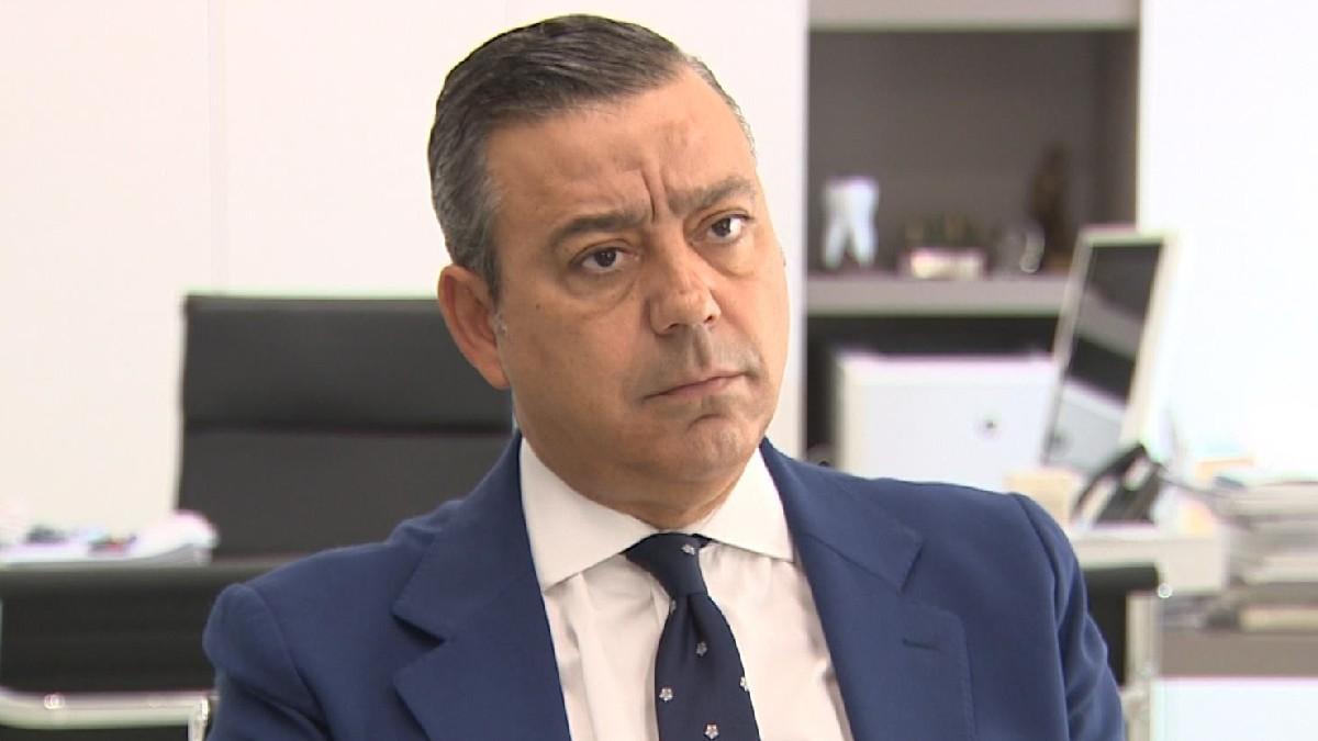 Óscar Castro, preisdente del Consejo de Dentistas de España