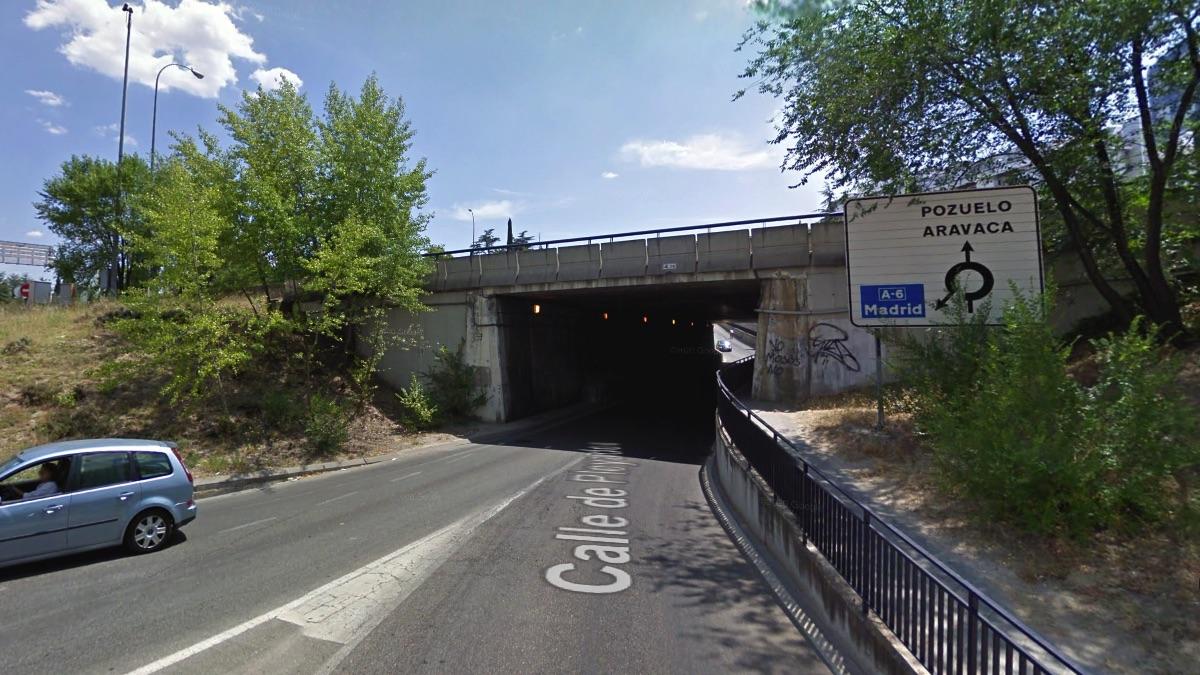 Puente de la discordia en el distrito de Moncloa-Aravaca.