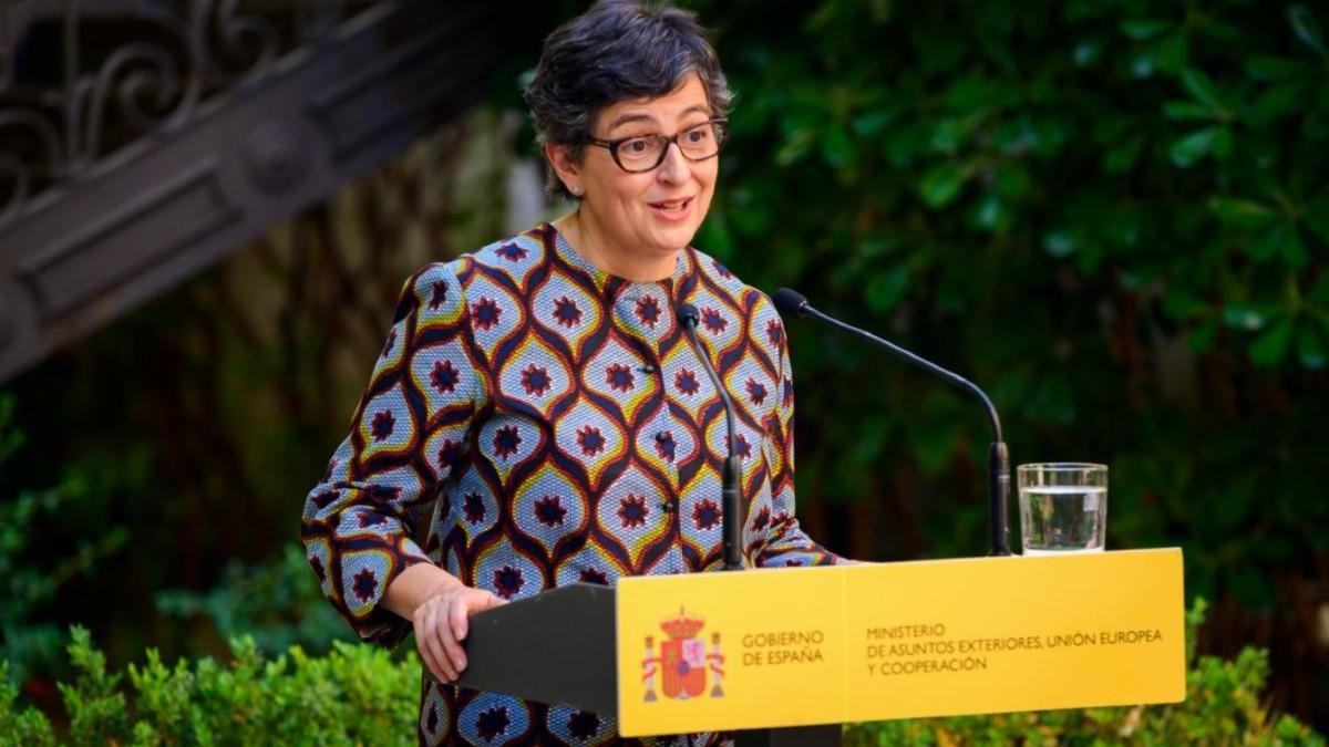 La ministra de Asuntos Exteriores, Arancha González Laya. (Foto: Europa Press)