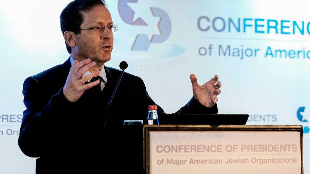 Isaac Herzog, nuevo presidente de Israel en sucesión de Reuven Rivlin. Foto: EP