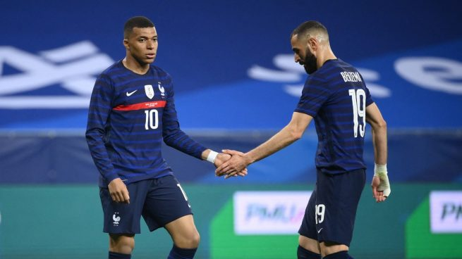 Benzema y Mbappé ilusionan a Francia