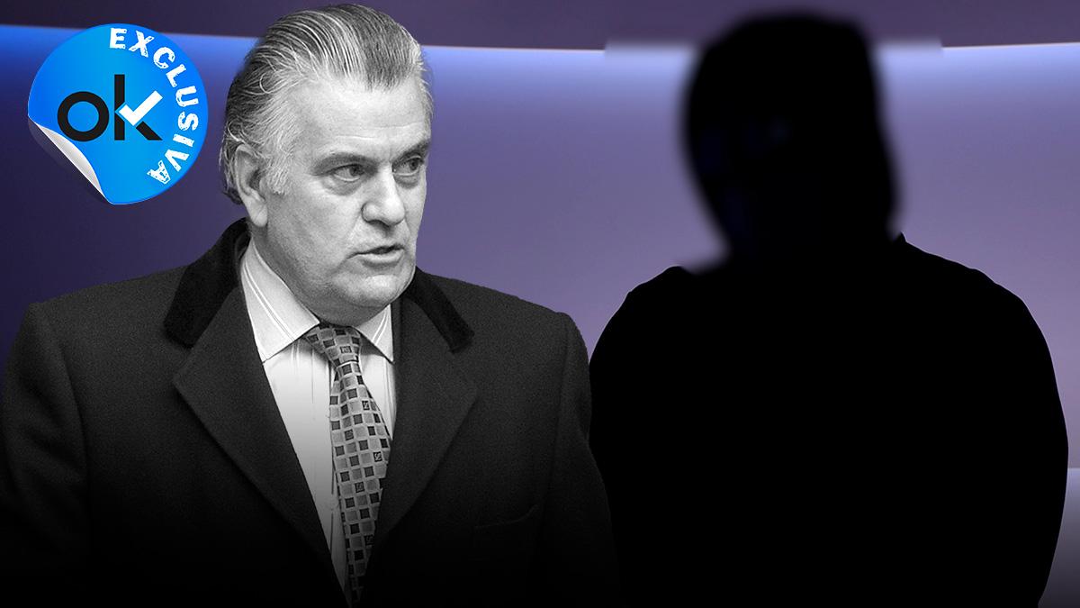 Fotomontaje del agente entrevistado y Luis Bárcenas.