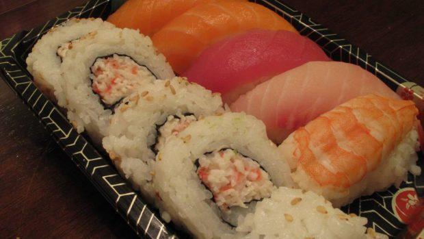 Sushi rosa