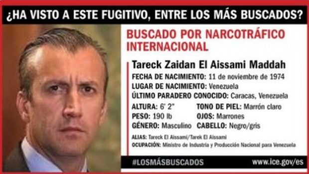 Tareck El Aissami, ministro del Petróleo de Venezuela.