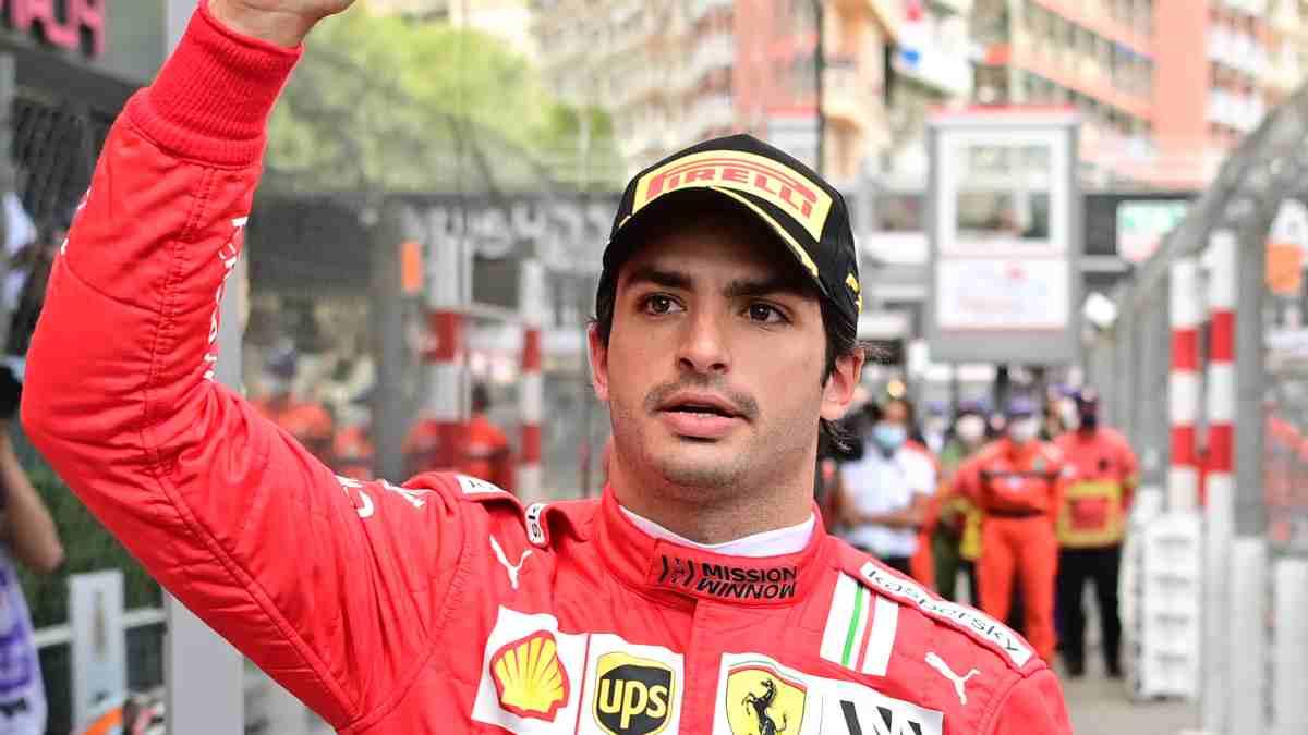 Carlos Sainz, piloto de Ferrari. (AFP)