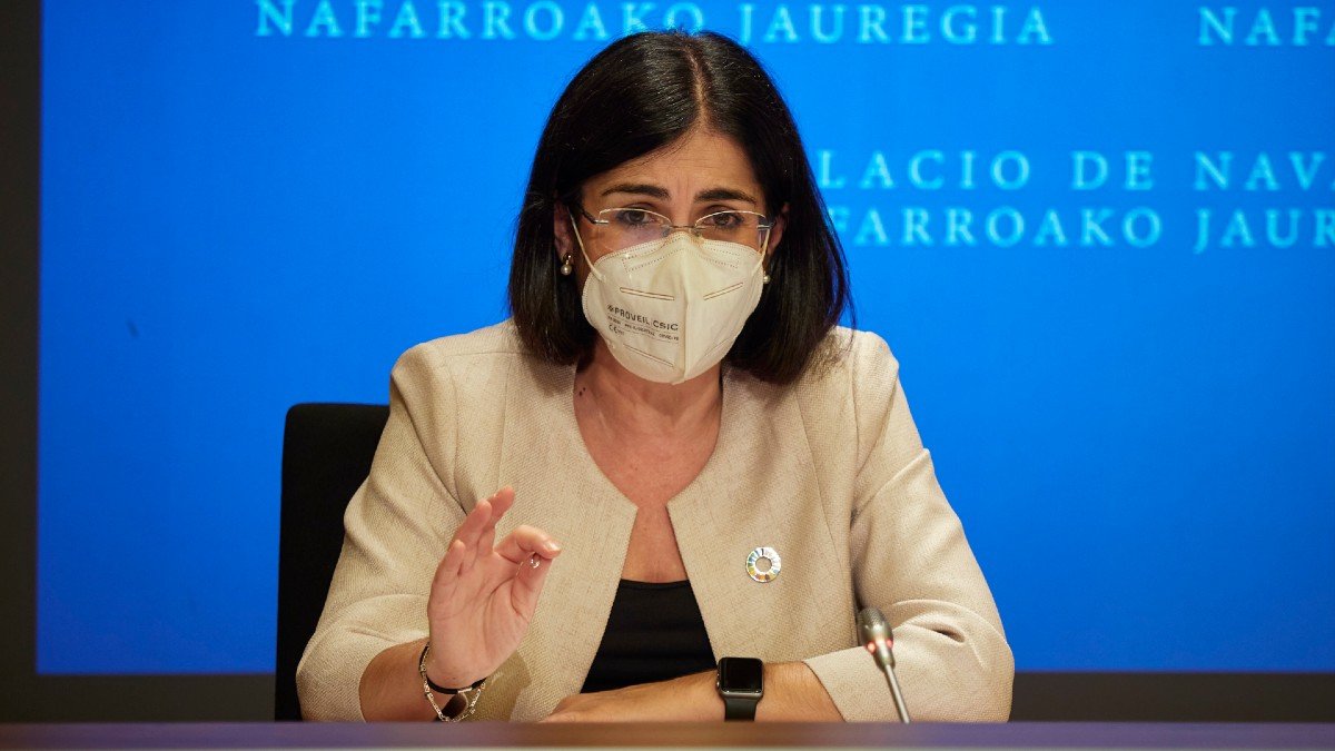 La ministra de Sanidad, Carolina Darias. (Foto: Europa Press)