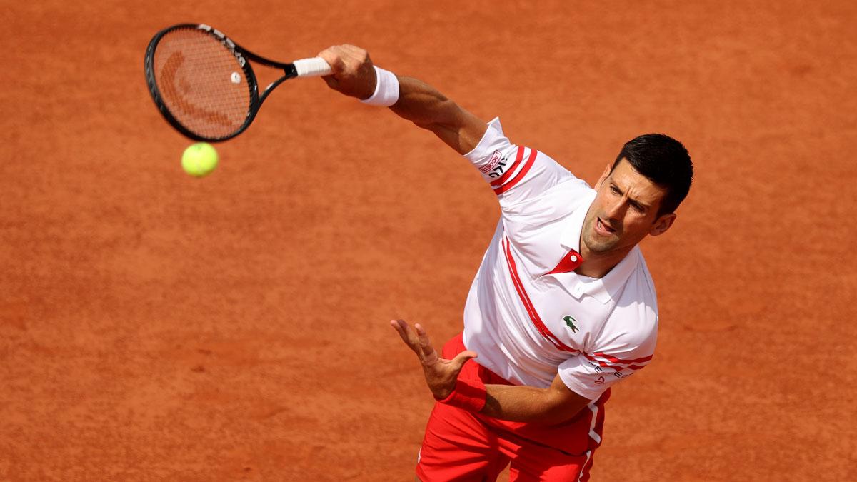 Djokovic, en Roland Garros 2021 (Getty)