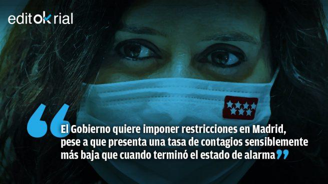 Sánchez sufre otro ataque de 'Ayusitis'