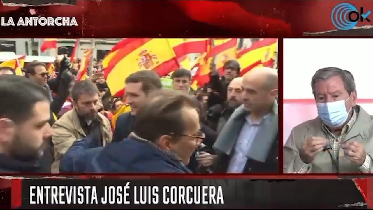 José Luis Corcuera en 'La Antorcha'