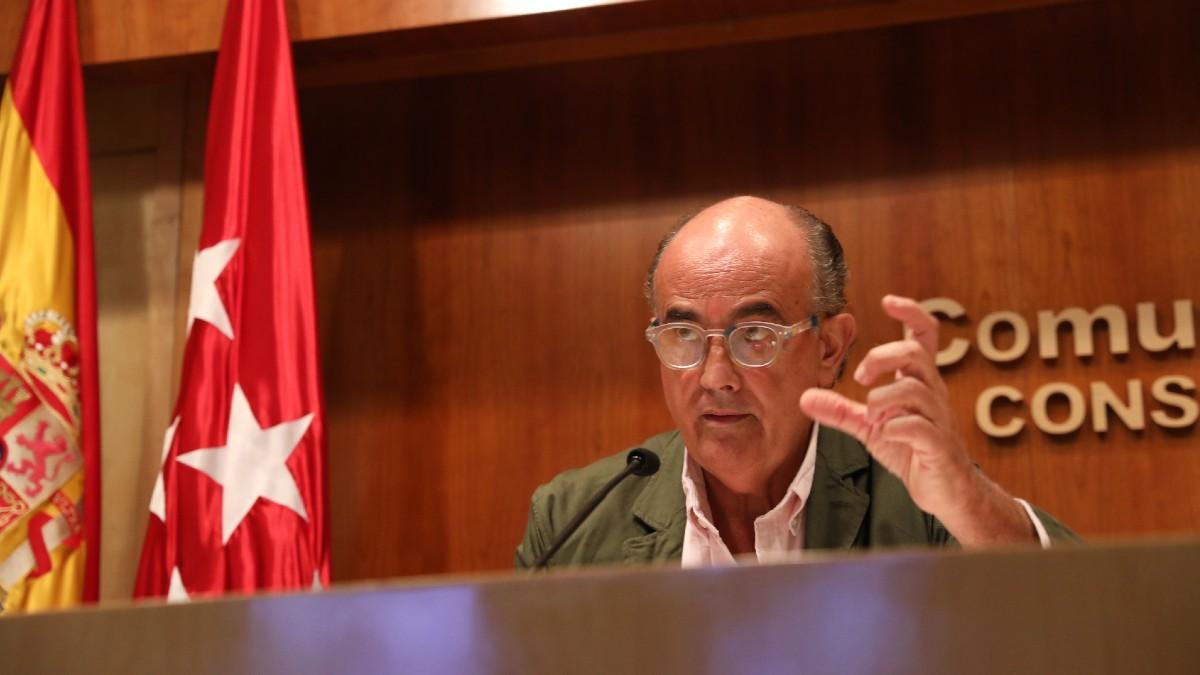 El viceconsejero de Salud Pública y Plan COVID-19 de la Comunidad de Madrid, Antonio Zapatero. (Foto: Europa Press)