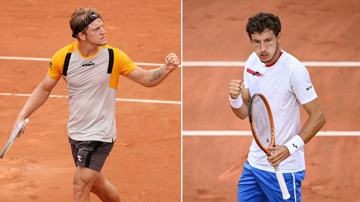 Davidovich y Carreño han sellado este viernes el billete a octavos en Roland Garros (Getty/AFP)