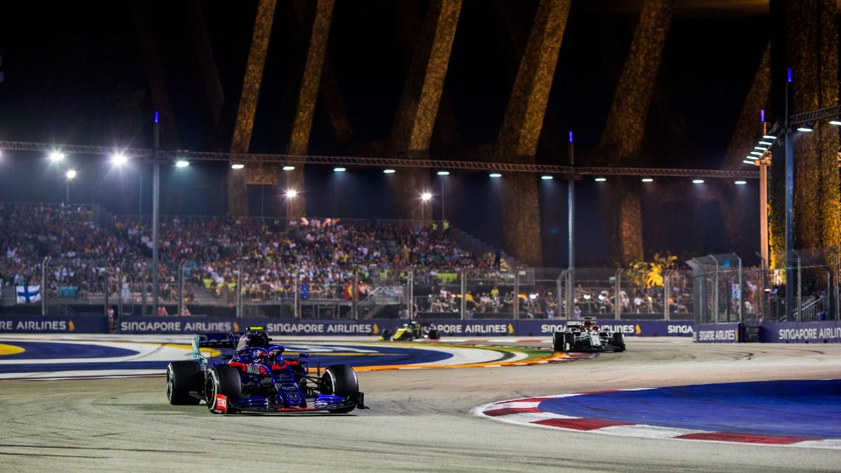 Gran Premio de Singapur de 2019. (Getty)