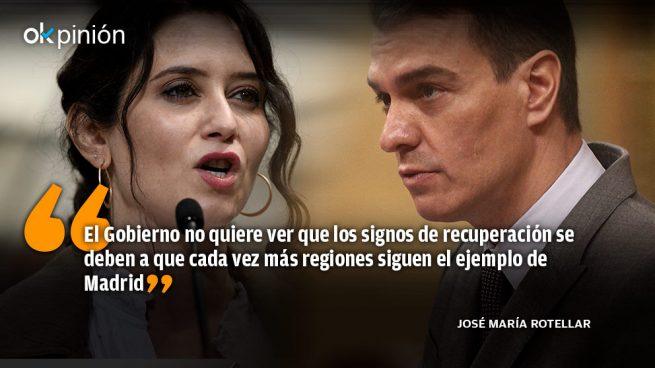El Gobierno debe copiar las medidas de Madrid, no perseguirlas