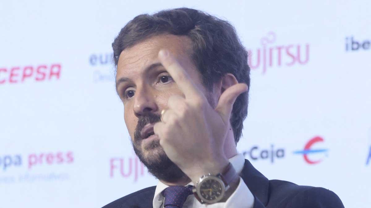 Pablo Casado. Foto: Europa Press.