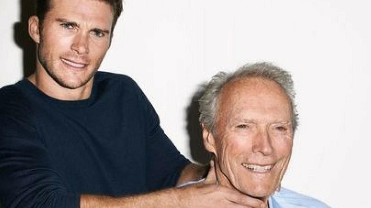 Clint Eastwood y su hijo Scott