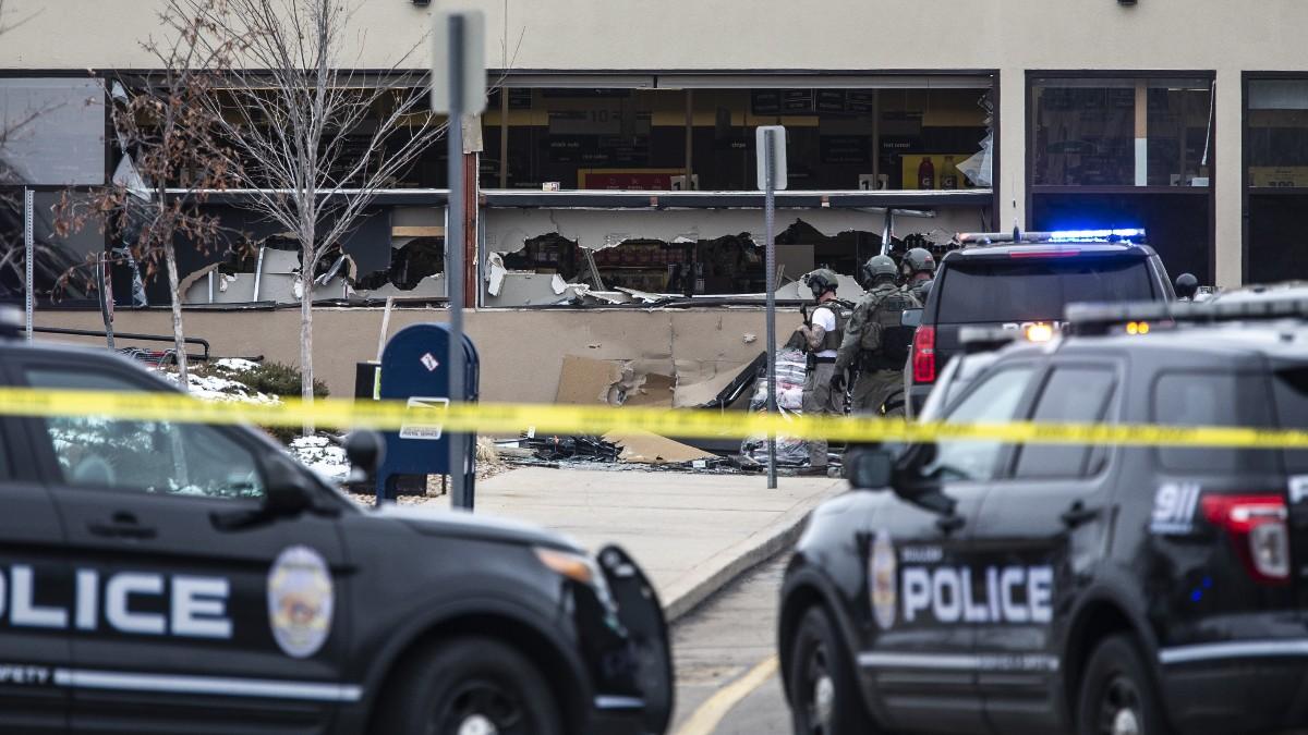 La Policía de EEUU acude a un tiroteo.