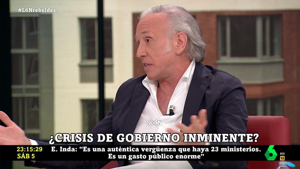 Eduardo Inda en La Sexta Noche.