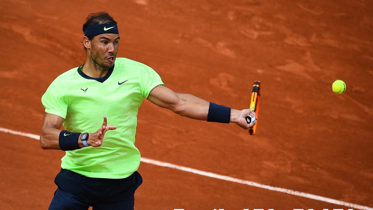 Nadal, en un partido de Roland Garros. (AFP)
