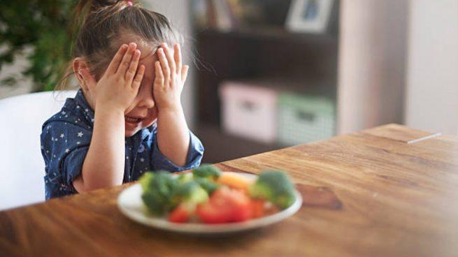 niños verduras legumbres