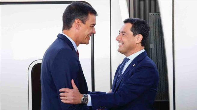Sánchez no se compromete con Moreno a devolver los 10.835 millones que el Gobierno debe a Andalucía