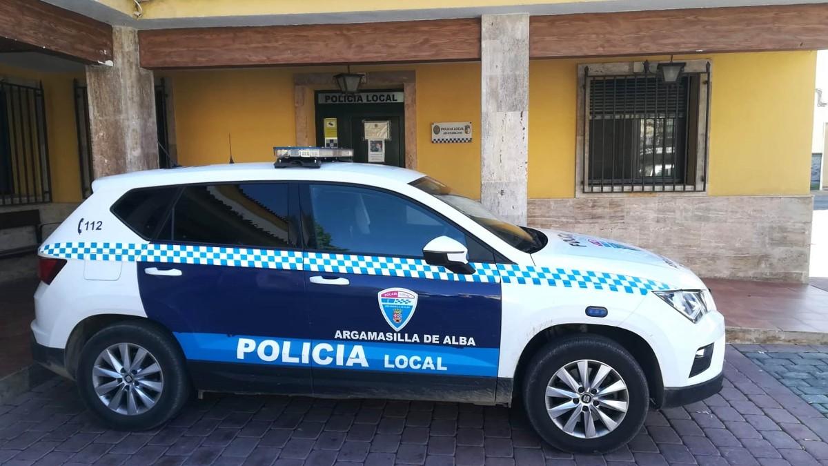 Coche policial de Argamasilla de Alba (Foto: Ayuntamiento).