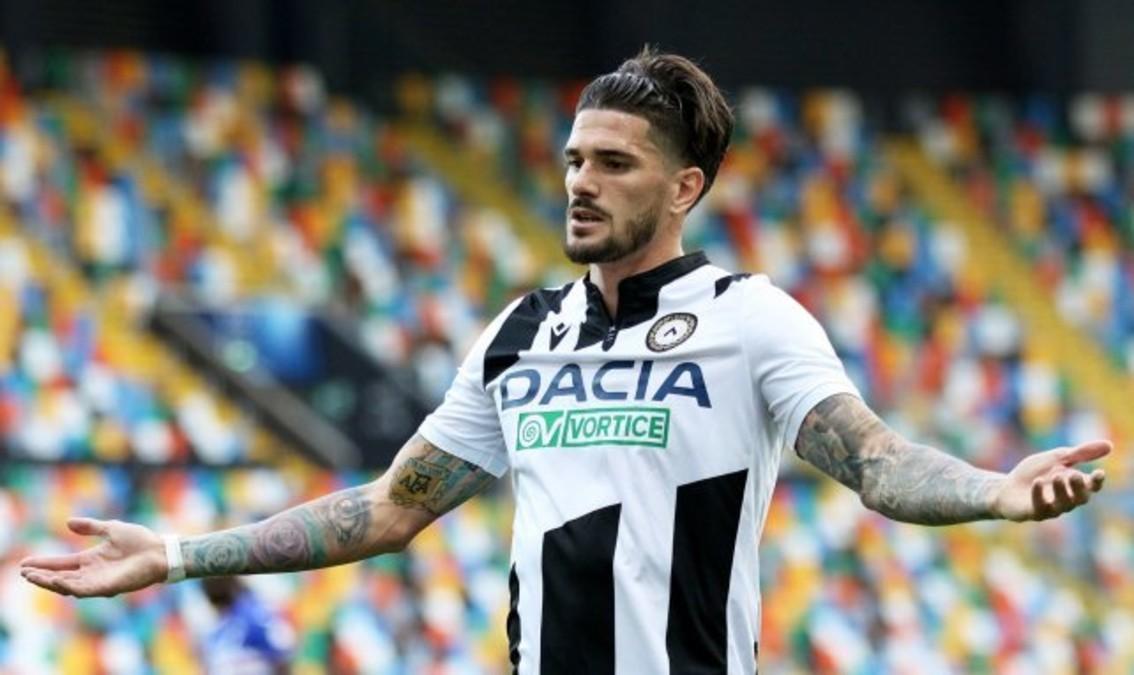 Rodrigo De Paul, con Udinese.
