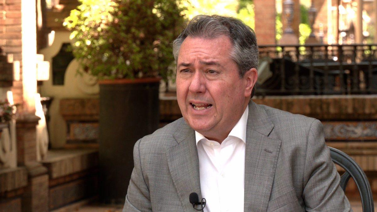 El alcalde de Sevilla y líder del PSOE-A, Juan Espadas.