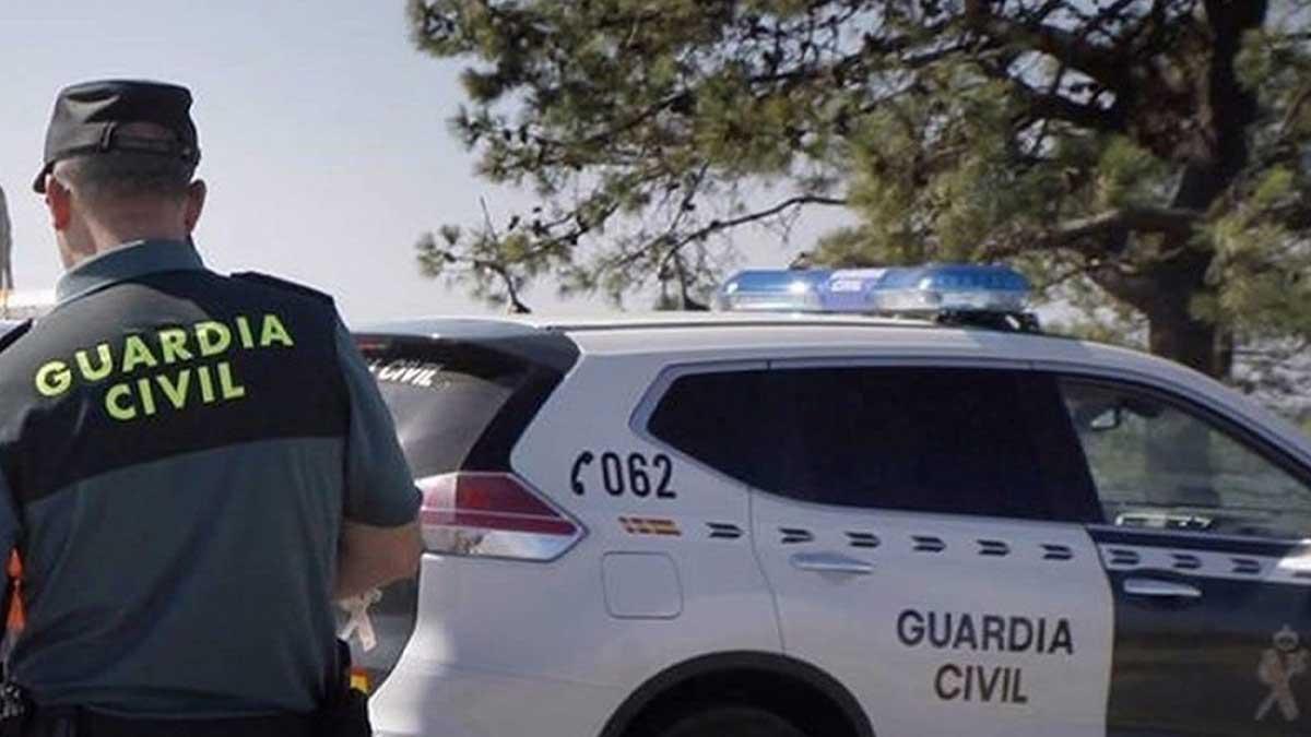 Un agente de la Guardia Civil. Foto: EP