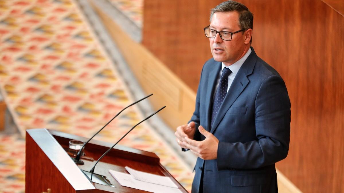 El portavoz del PP en la Asamblea de Madrid, Alfonso Serrano. (Foto: Europa Press)