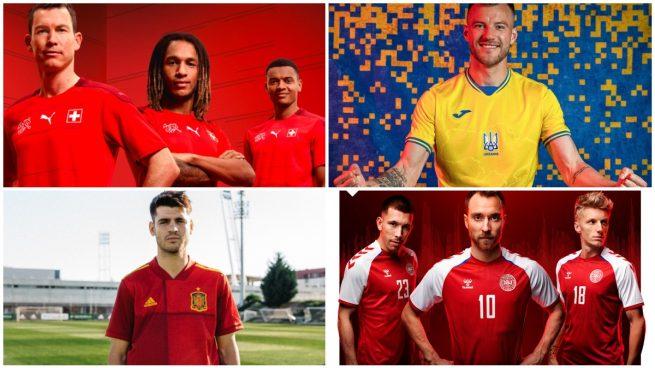 Fotogalería: las equipaciones de todos los equipos de la Eurocopa 2020