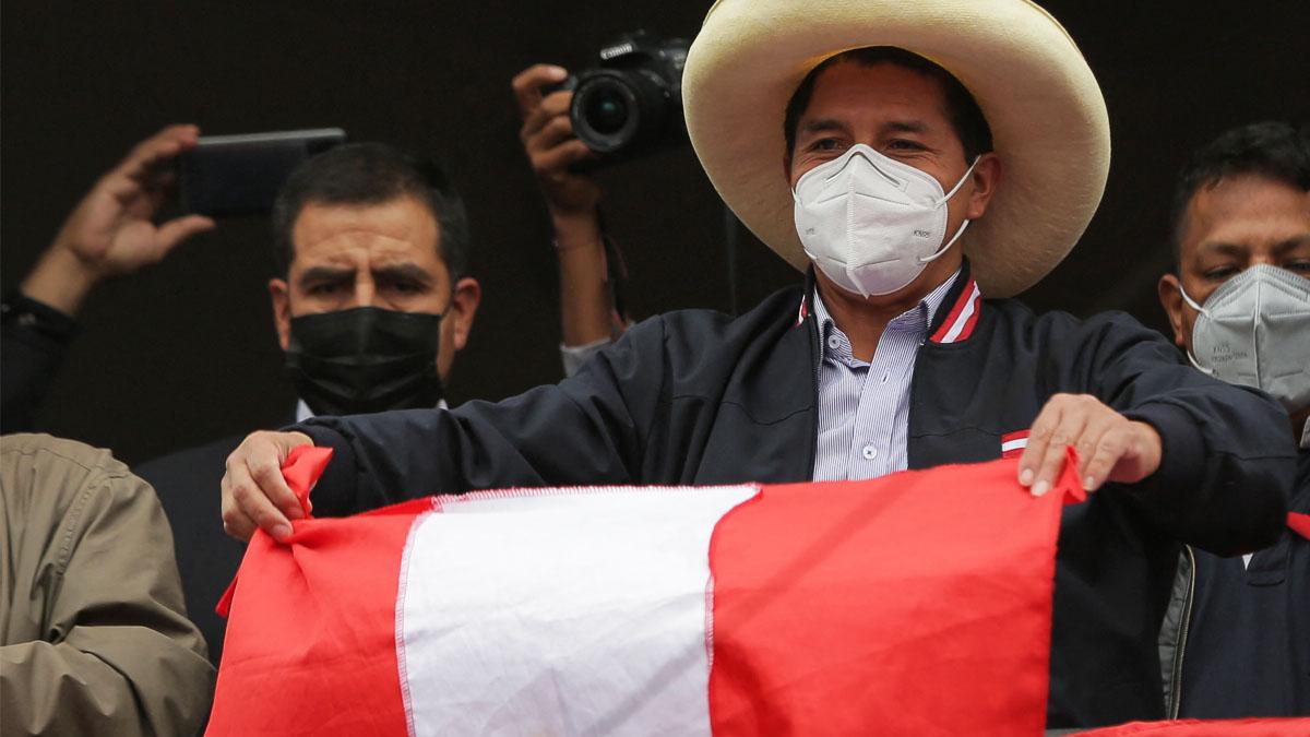 El peruano Pedro Castillo (Foto: AFP)