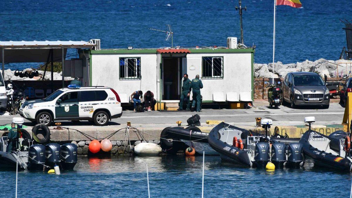 Puerto de Ceuta.
